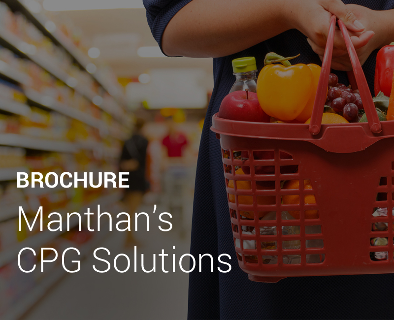 Manthan's CPG Solutions